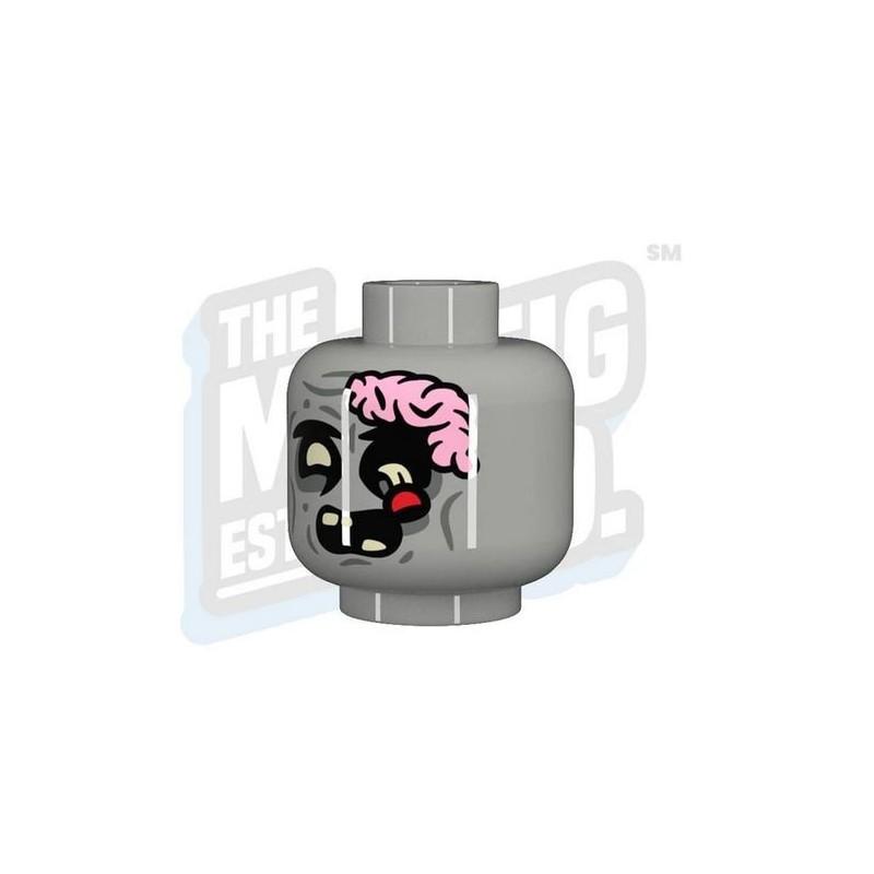 TMC - Zombie Brainiac Head