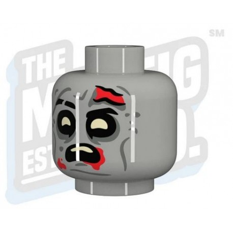 TMC - Zombie Scared Head