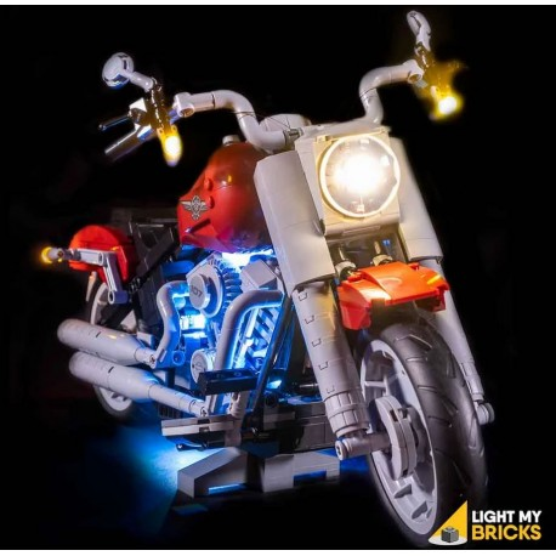 LEGO Harley Davidson Fatboy 10269 Light Kit