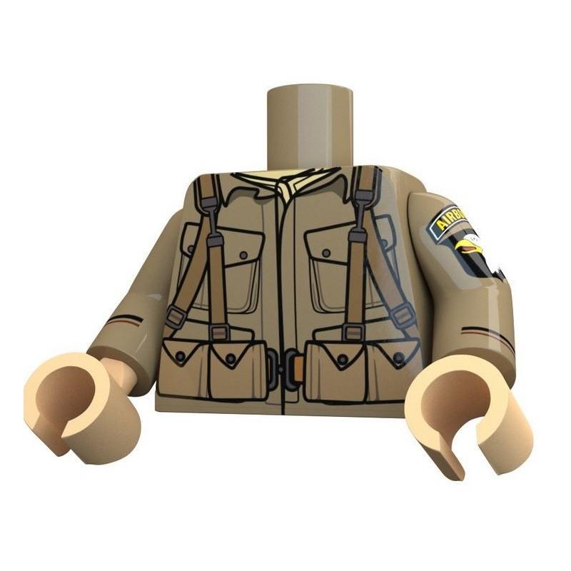 United Bricks - Airborne 101st Torso