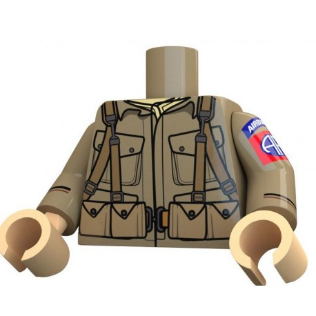 United Bricks - Airborne 82nd Torso