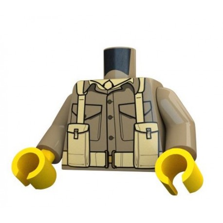 United Bricks - British Infantry Torso