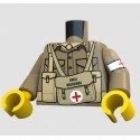 United Bricks - British Medic Torso