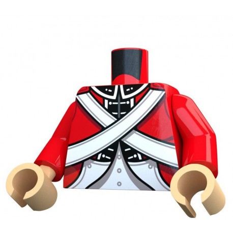 United Bricks - British Redcoat Torso