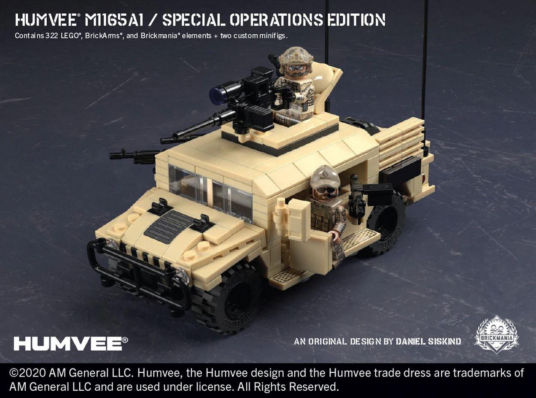 Brickmania Humvee