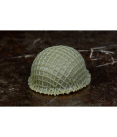 Netted BrickArms® M1 Steel Pot Helmet