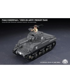 M4A3 Sherman - WWII US Army Medium Tank