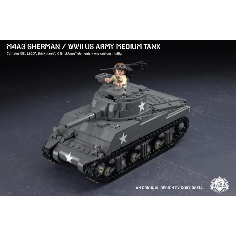 M4A3 Sherman - WWII US Army Medium Tank