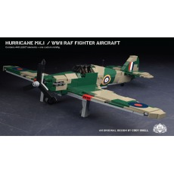 Hurricane Mk. I – WWII RAF Fighter Aircraft