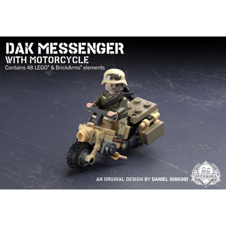 DAK Messenger with Motorcycle