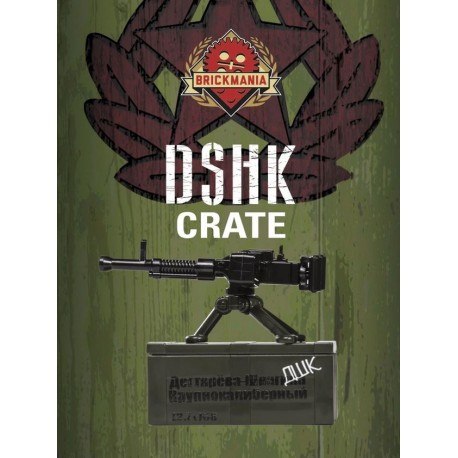 BrickArms® DShK Crate - Dark OD Green