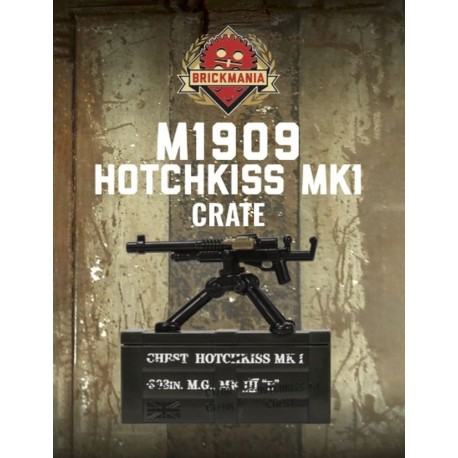 BrickArms® M1909 Hotchkiss Mk1 Crate