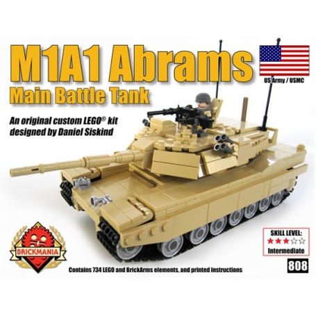 Retired: M1A1 Abrams Main Battle Tank - release 2012