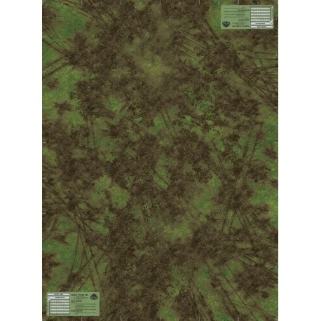 Muddied Terrain Battle Mat