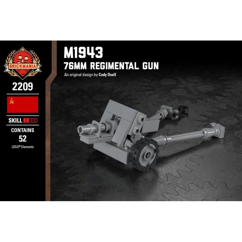 M1943 76mm Regimental Gun