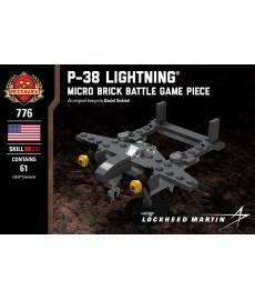 P-38 Lightning® - Micro Brick Battle