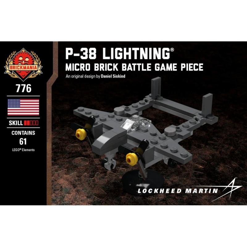 P-38 Lightning® - Micro Brick Battle