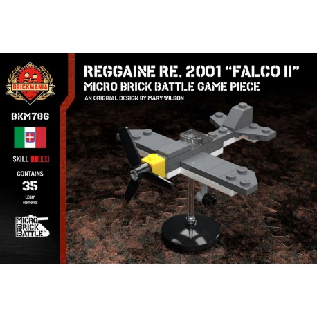 "Reggaine Re. 2001 ""Falco II"" - Micro Brick Battle"