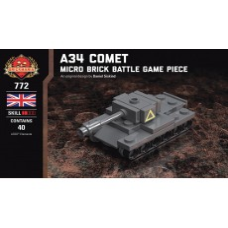 A34 Comet - Micro Brick Battle