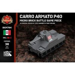 Carro Armato P40 - Micro Brick Battle