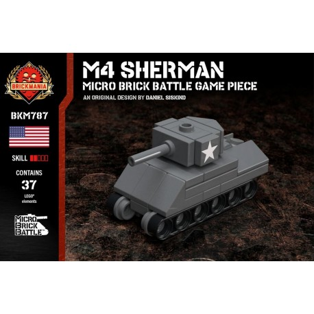 M4 Sherman - Micro Brick Battle