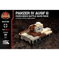 Panzer IV Ausf G - Micro Brick Battle