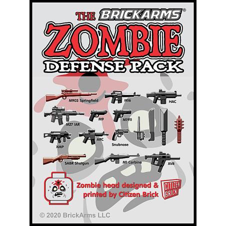 BrickArms Zombie Defense Pack 2020
