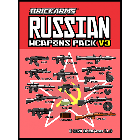BrickArms Russian Weapons Pack v3