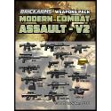 Brickarms Modern Combat Pack - Assault Pack v2 wapen set voor LEGO Minifigures