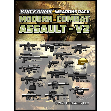 Modern Combat Pack - Assault Pack v2