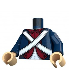 United Bricks - American Revolutionary War Continental Torso