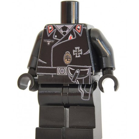 United Bricks - German Panzer Commander Torso/Legs