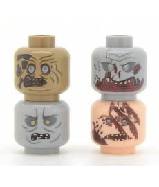 United Bricks - Zombie Head Pack 1