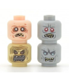 United Bricks - Zombie Head Pack 2