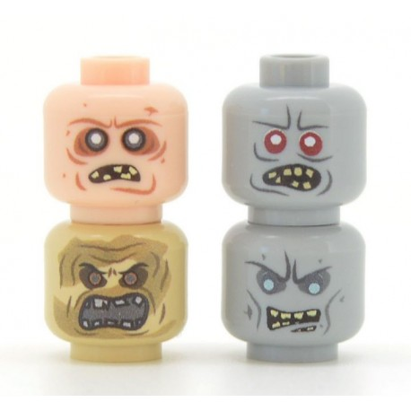 United Bricks - Zombie Head Pack 2