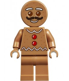 Gingerbread Man - Moustache