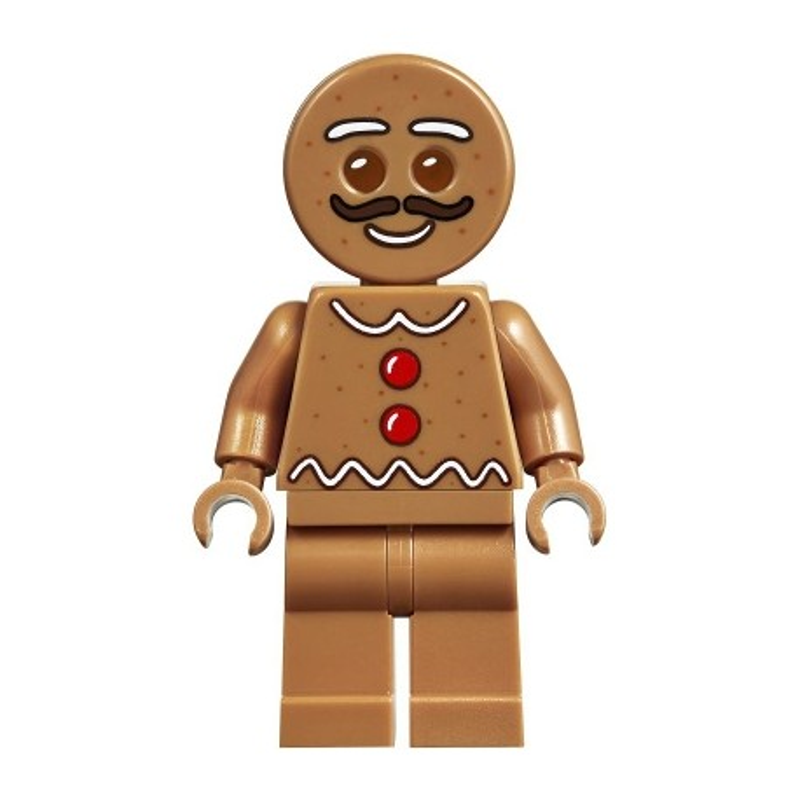 Gingerbread Man - Moustache