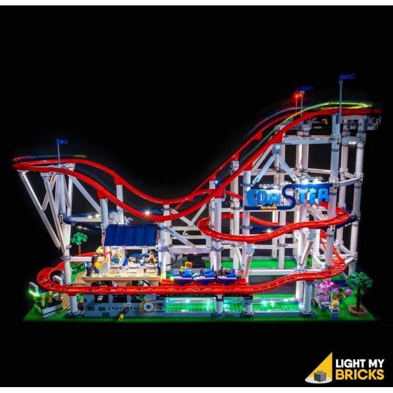LEGO Achtbaan 10261 Verlichtings Set