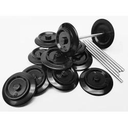BrickTracks Wheels and Axles - 6 Sets
