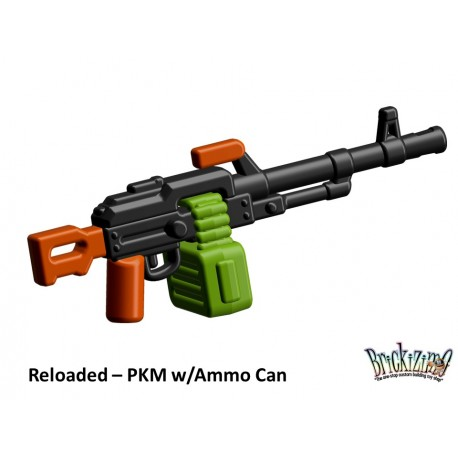 BrickArms Reloaded: PKM w/Ammo Can