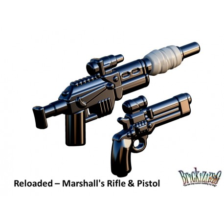 BrickArms Reloaded: Marshall's Rifle & Pistol