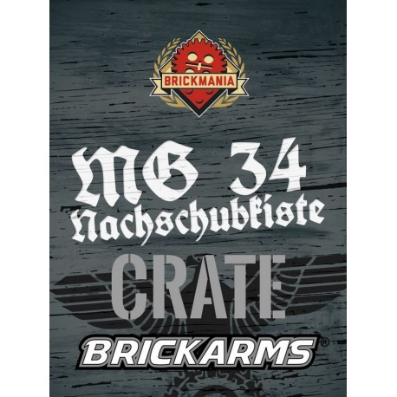BrickArms® MG34 Crate