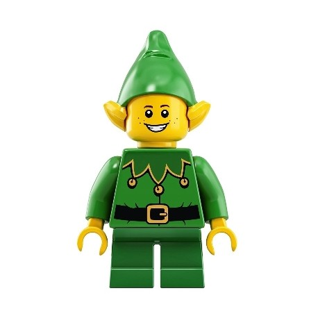 Christmas Elf with Bells - Freckles