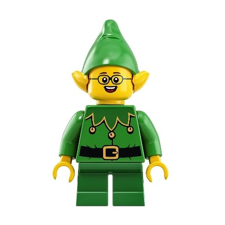 Christmas Elf with Bells - Glasses