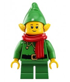 Christmas Elf with Bells - Scarf