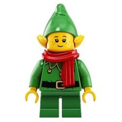Weihnachtself mit Glocken - Schal