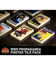 WWII Propaganda Poster Tile Pack