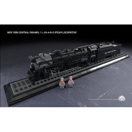 New York Central Mohawk - L-2a 4-8-2 Steam Locomotive
