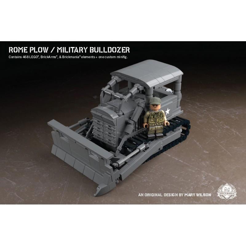 Rome Plow - Military Bulldozer