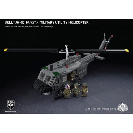Bell® UH-1D Huey® - Utility Military Helicopter